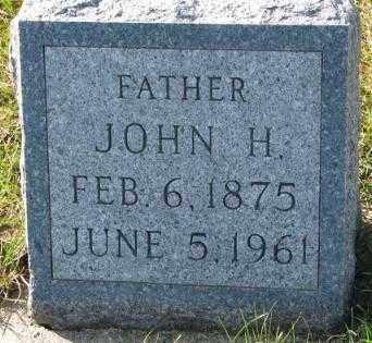 HOCHSTEIN, JOHN H. - Cedar County, Nebraska   JOHN H. HOCHSTEIN - Nebraska Gravestone Photos