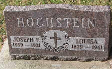 HOCHSTEIN, JOSEPH F. - Cedar County, Nebraska | JOSEPH F. HOCHSTEIN - Nebraska Gravestone Photos