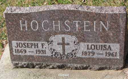 HOCHSTEIN, LOUISA - Cedar County, Nebraska | LOUISA HOCHSTEIN - Nebraska Gravestone Photos