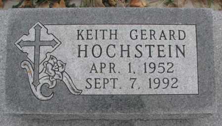 HOCHSTEIN, KEITH GERARD - Cedar County, Nebraska | KEITH GERARD HOCHSTEIN - Nebraska Gravestone Photos
