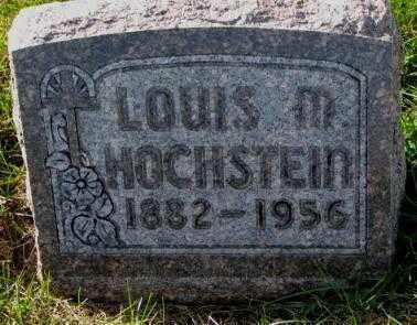 HOCHSTEIN, LOUIS M. - Cedar County, Nebraska | LOUIS M. HOCHSTEIN - Nebraska Gravestone Photos