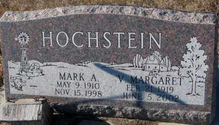 HOCHSTEIN, MARK V. - Cedar County, Nebraska   MARK V. HOCHSTEIN - Nebraska Gravestone Photos