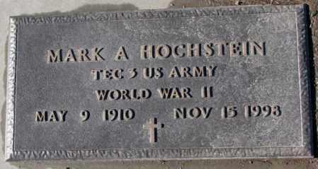 HOCHSTEIN, MARK A. (WW II) - Cedar County, Nebraska | MARK A. (WW II) HOCHSTEIN - Nebraska Gravestone Photos