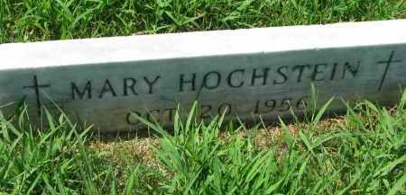 HOCHSTEIN, MARY - Cedar County, Nebraska | MARY HOCHSTEIN - Nebraska Gravestone Photos