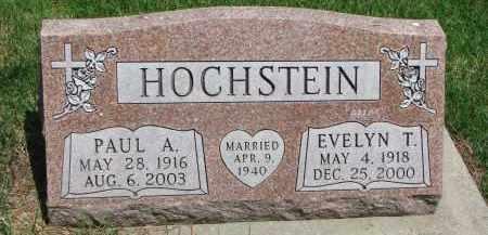 HOCHSTEIN, PAUL A. - Cedar County, Nebraska | PAUL A. HOCHSTEIN - Nebraska Gravestone Photos