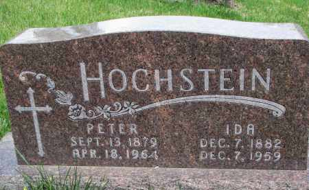 HOCHSTEIN, PETER - Cedar County, Nebraska | PETER HOCHSTEIN - Nebraska Gravestone Photos