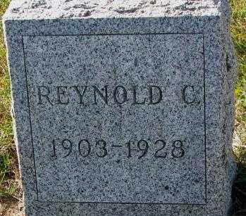 HOCHSTEIN, REYNOLD C. - Cedar County, Nebraska   REYNOLD C. HOCHSTEIN - Nebraska Gravestone Photos