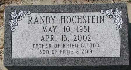HOCHSTEIN, RANDY - Cedar County, Nebraska | RANDY HOCHSTEIN - Nebraska Gravestone Photos