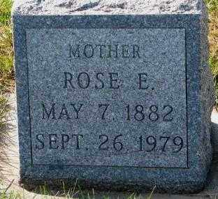 HOCHSTEIN, ROSE E. - Cedar County, Nebraska | ROSE E. HOCHSTEIN - Nebraska Gravestone Photos