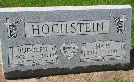 HOCHSTEIN, MARY - Cedar County, Nebraska   MARY HOCHSTEIN - Nebraska Gravestone Photos