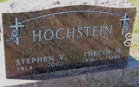 HOCHSTEIN, STEPHEN V. - Cedar County, Nebraska | STEPHEN V. HOCHSTEIN - Nebraska Gravestone Photos