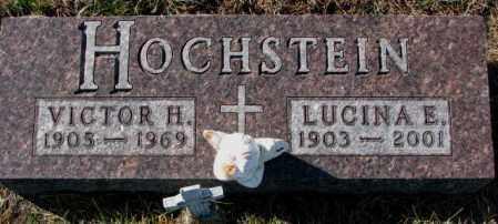 HOCHSTEIN, VICTOR H. - Cedar County, Nebraska | VICTOR H. HOCHSTEIN - Nebraska Gravestone Photos