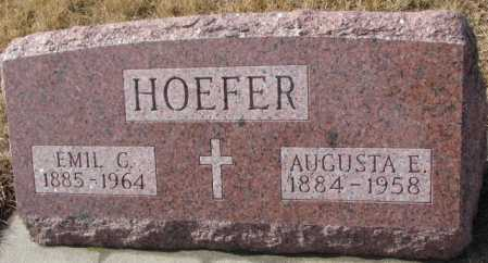 RYAN HOEFER, AUGUSTA - Cedar County, Nebraska | AUGUSTA RYAN HOEFER - Nebraska Gravestone Photos