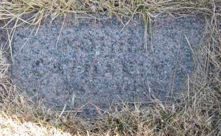 HOEFER, CATHERINE (FOOTSTONE) - Cedar County, Nebraska | CATHERINE (FOOTSTONE) HOEFER - Nebraska Gravestone Photos