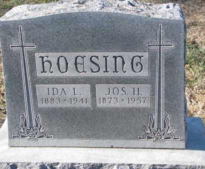 HOESING, JOSEPH H. - Cedar County, Nebraska   JOSEPH H. HOESING - Nebraska Gravestone Photos