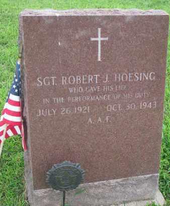 HOESING, ROBERT J. - Cedar County, Nebraska | ROBERT J. HOESING - Nebraska Gravestone Photos
