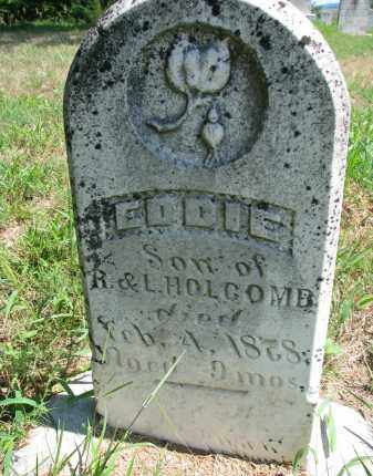 HOLCOMB, EDDIE - Cedar County, Nebraska   EDDIE HOLCOMB - Nebraska Gravestone Photos