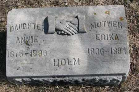 HOLM, ANNIE - Cedar County, Nebraska | ANNIE HOLM - Nebraska Gravestone Photos