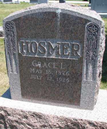 HOSMER, GRACE L. - Cedar County, Nebraska | GRACE L. HOSMER - Nebraska Gravestone Photos