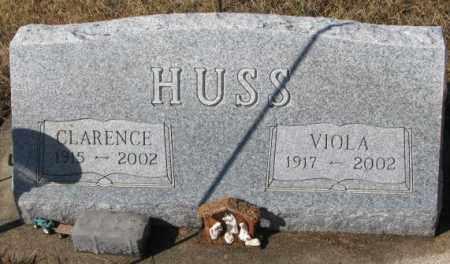 HUSS, VIOLA - Cedar County, Nebraska | VIOLA HUSS - Nebraska Gravestone Photos