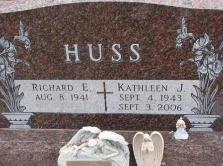 HUSS, KATHLEEN J. - Cedar County, Nebraska | KATHLEEN J. HUSS - Nebraska Gravestone Photos