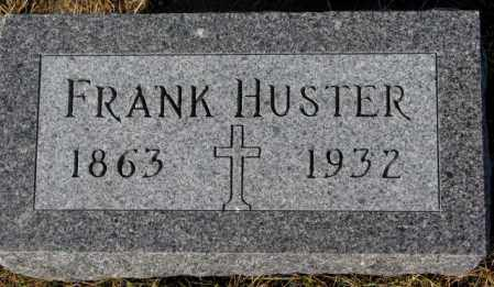 HUSTER, FRANK - Cedar County, Nebraska | FRANK HUSTER - Nebraska Gravestone Photos