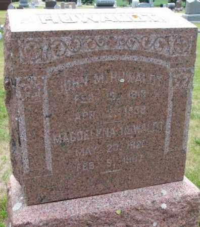 GROEBER HUWALDT, MAGDELENA - Cedar County, Nebraska | MAGDELENA GROEBER HUWALDT - Nebraska Gravestone Photos