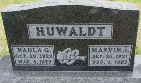 HUWALDT, NAOLA G. - Cedar County, Nebraska | NAOLA G. HUWALDT - Nebraska Gravestone Photos