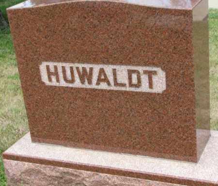 HUWALDT, PLOT - Cedar County, Nebraska | PLOT HUWALDT - Nebraska Gravestone Photos