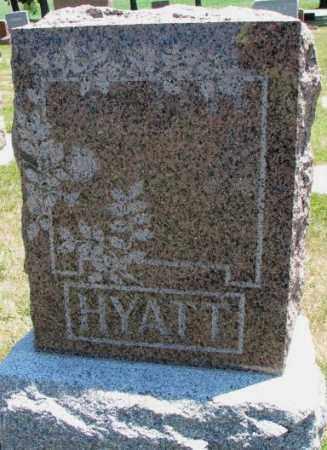 HYATT, PLOT - Cedar County, Nebraska | PLOT HYATT - Nebraska Gravestone Photos