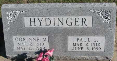 HYDINGER, PAUL J. - Cedar County, Nebraska | PAUL J. HYDINGER - Nebraska Gravestone Photos