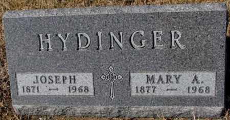 HYDINGER, MARY A. - Cedar County, Nebraska | MARY A. HYDINGER - Nebraska Gravestone Photos