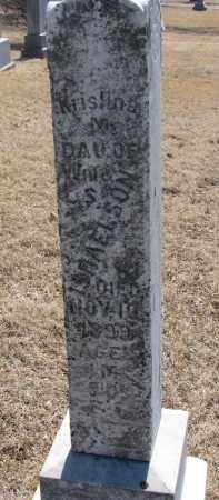 ISRAELSON, KRISTINA M. - Cedar County, Nebraska | KRISTINA M. ISRAELSON - Nebraska Gravestone Photos