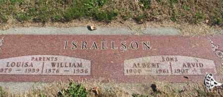 ISRAELSON, ALBERT - Cedar County, Nebraska | ALBERT ISRAELSON - Nebraska Gravestone Photos