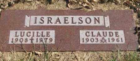 ISRAELSON, LUCILLE - Cedar County, Nebraska | LUCILLE ISRAELSON - Nebraska Gravestone Photos