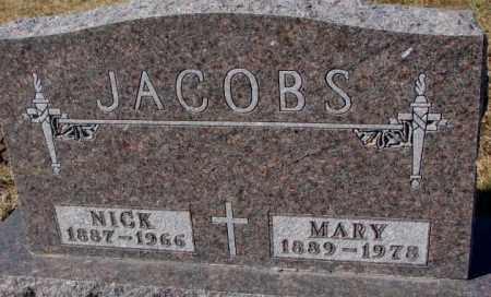 JACOBS, MARY - Cedar County, Nebraska | MARY JACOBS - Nebraska Gravestone Photos
