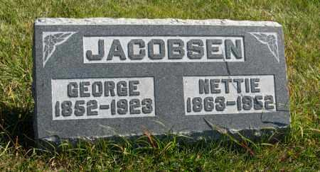 JACOBSEN, NETTIE - Cedar County, Nebraska   NETTIE JACOBSEN - Nebraska Gravestone Photos