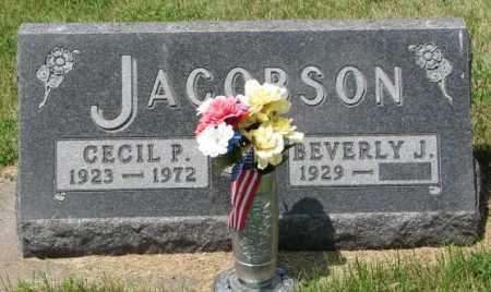 JACOBSON, BEVERLY J. - Cedar County, Nebraska | BEVERLY J. JACOBSON - Nebraska Gravestone Photos
