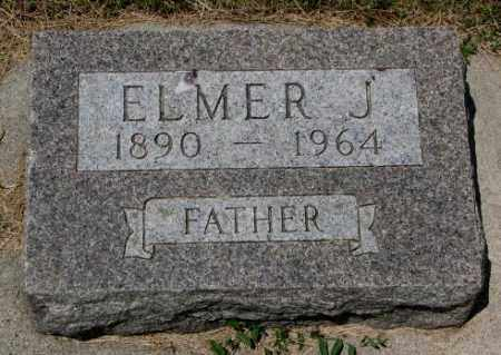 JACOBSON, ELMER J. - Cedar County, Nebraska | ELMER J. JACOBSON - Nebraska Gravestone Photos