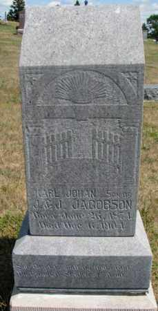 JACOBSON, KARL JOHN - Cedar County, Nebraska | KARL JOHN JACOBSON - Nebraska Gravestone Photos