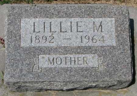 JACOBSON, LILLIE M. - Cedar County, Nebraska | LILLIE M. JACOBSON - Nebraska Gravestone Photos