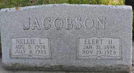 JACOBSON, ELERT H. - Cedar County, Nebraska   ELERT H. JACOBSON - Nebraska Gravestone Photos