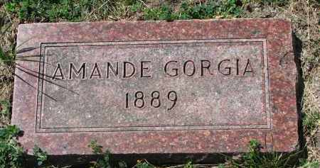 JENSEN, AMANDE GORGIA - Cedar County, Nebraska | AMANDE GORGIA JENSEN - Nebraska Gravestone Photos