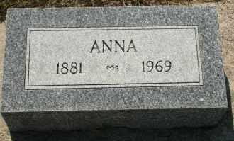 JENSEN, ANNA - Cedar County, Nebraska | ANNA JENSEN - Nebraska Gravestone Photos