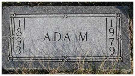 JENSEN, ADA M. - Cedar County, Nebraska | ADA M. JENSEN - Nebraska Gravestone Photos
