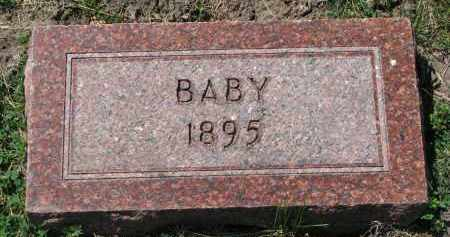 JENSEN, BABY - Cedar County, Nebraska | BABY JENSEN - Nebraska Gravestone Photos