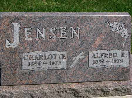 JENSEN, ALFRED R. - Cedar County, Nebraska | ALFRED R. JENSEN - Nebraska Gravestone Photos