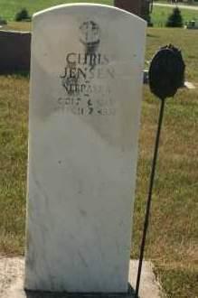 JENSEN, CHRIS - Cedar County, Nebraska | CHRIS JENSEN - Nebraska Gravestone Photos