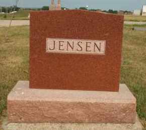 JENSEN, FAMILY - Cedar County, Nebraska | FAMILY JENSEN - Nebraska Gravestone Photos