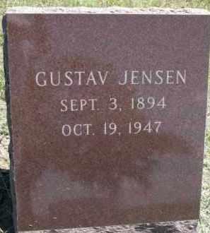 JENSEN, GUSTAV - Cedar County, Nebraska | GUSTAV JENSEN - Nebraska Gravestone Photos